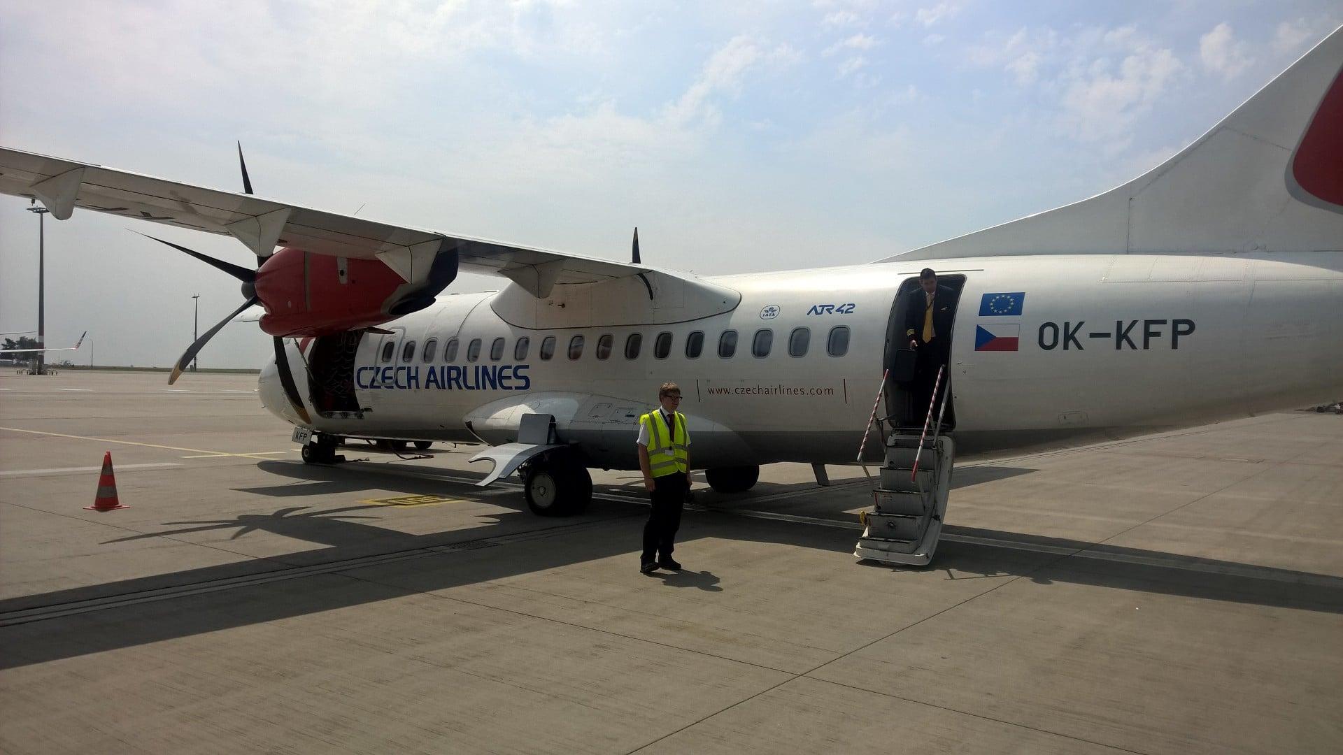 Czech Airlines ATR 42