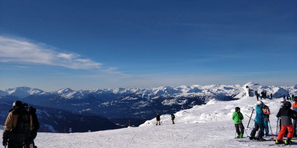 Kanada Whistler Ski Schnee
