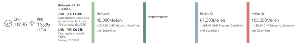 Schweiz Steuern Gebühren MilesMore