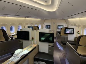 Lufthansa 747 First Class