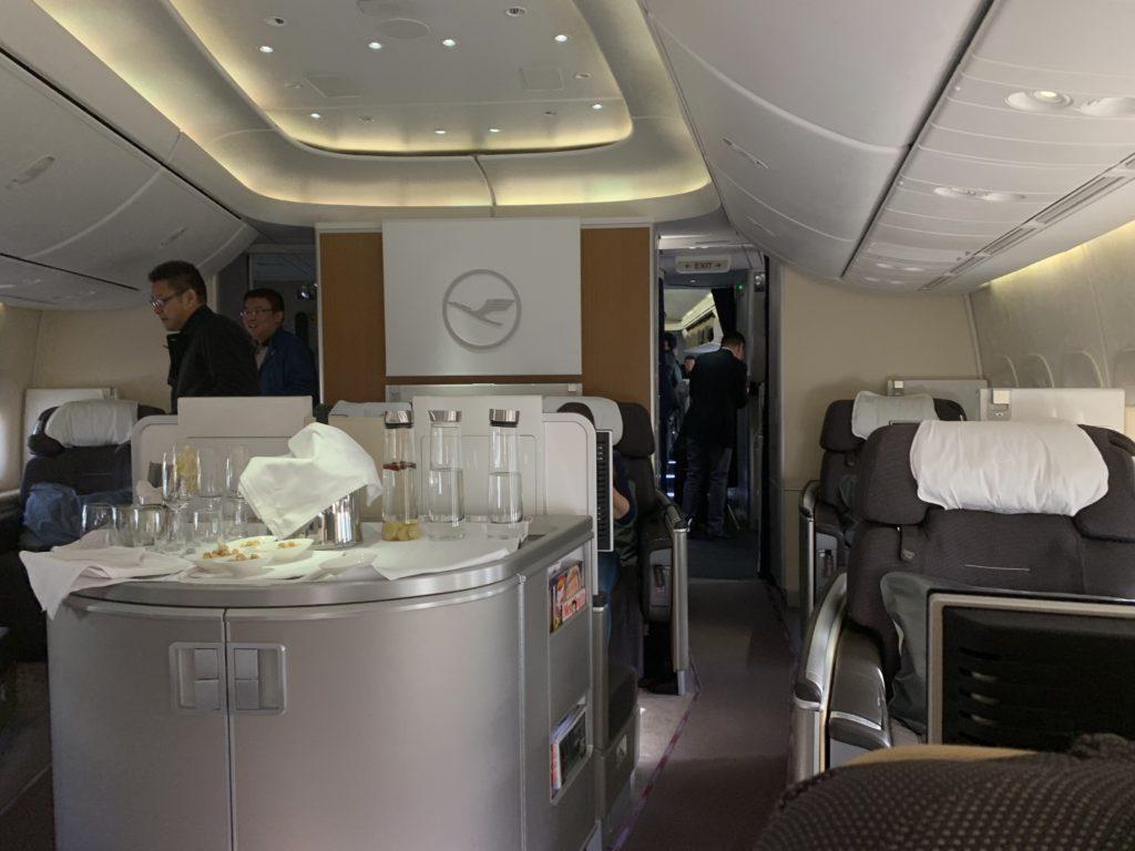 Lufthansa 747 First Class Von Vorne