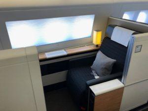 Swiss First Class 777 Sitz 3