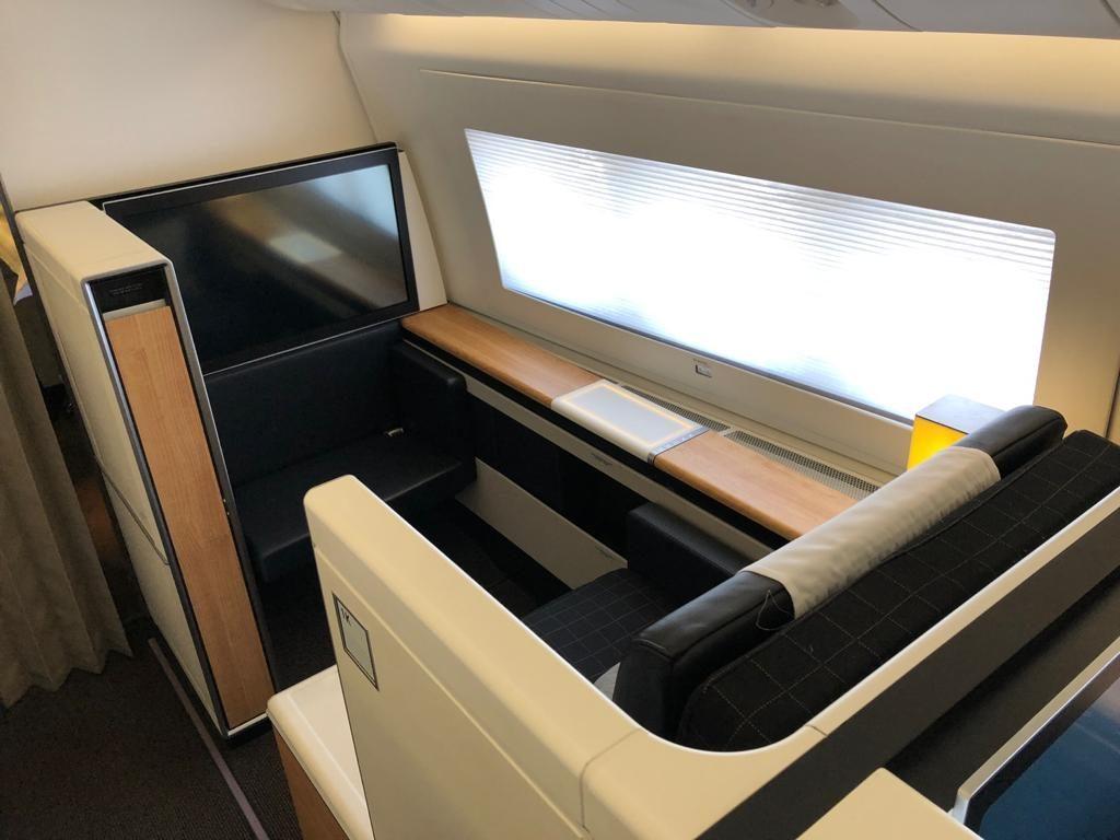 Swiss First Class 777 Sitz 4