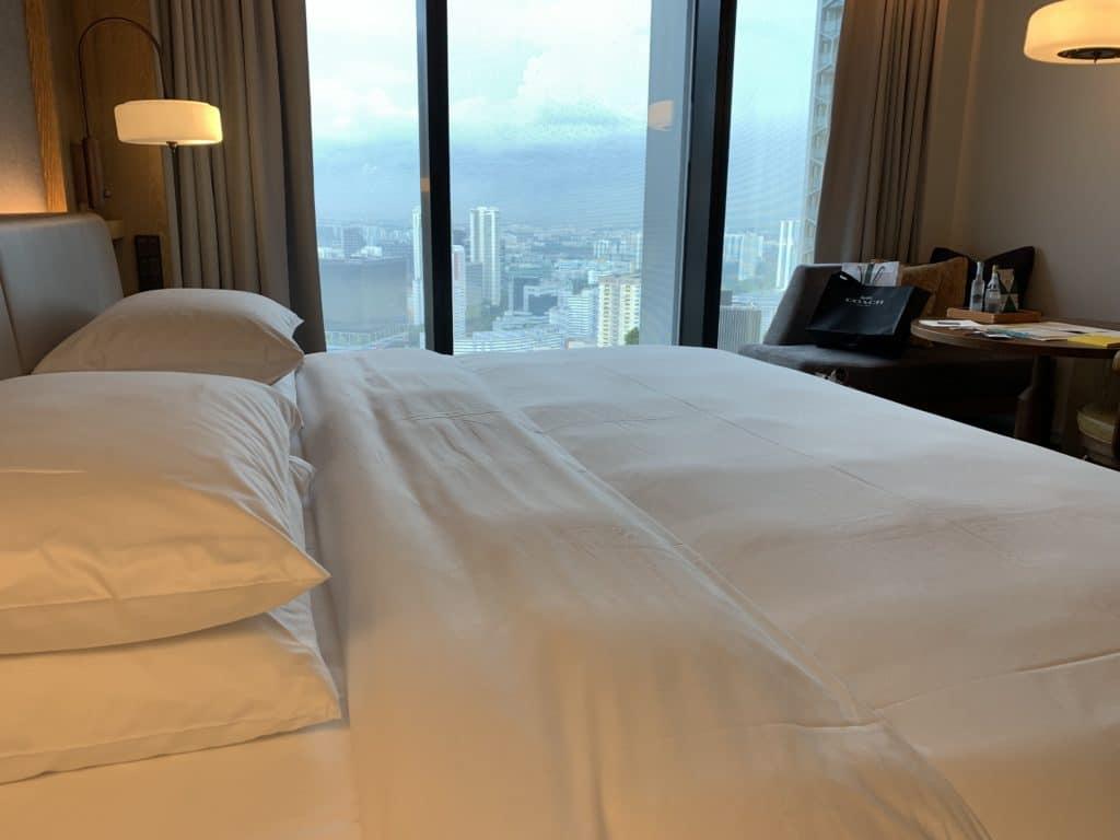 Andaz Singapore Bett Panorama