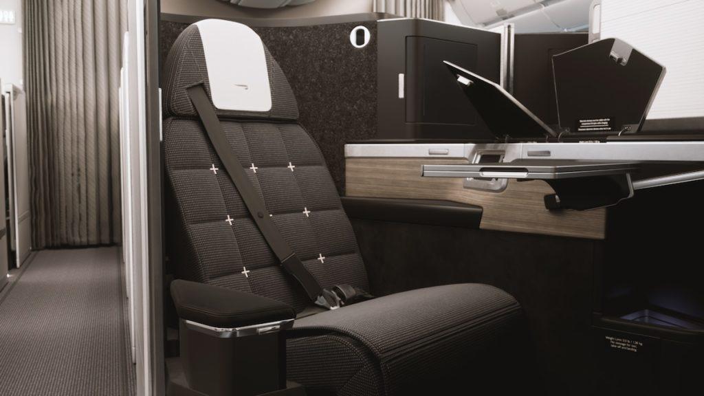 British Airways Business Class 2