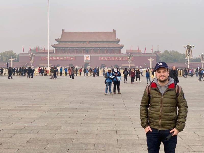 Peking Tian Anmen Platz Luca