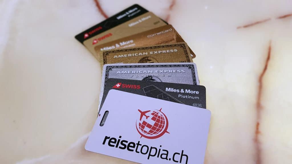 Kreditkarten Vergleich Schweiz Meilen sammeln