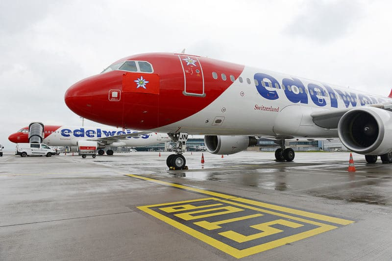 Stanserhorn Von Vorne Edelweiss A320