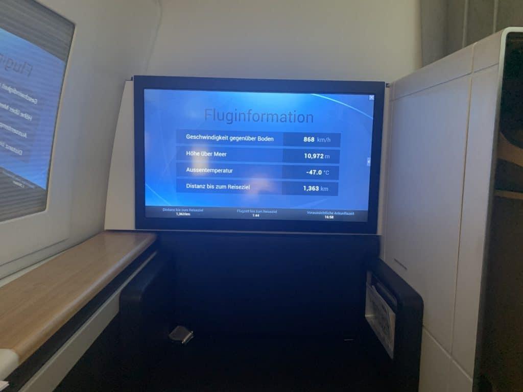 Swiss First Class 777 Entertainment 1