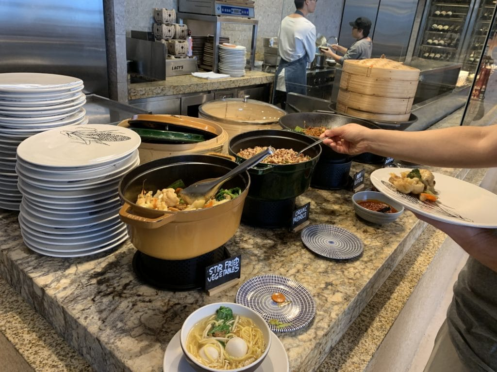 Andaz Singapore Asia Buffet