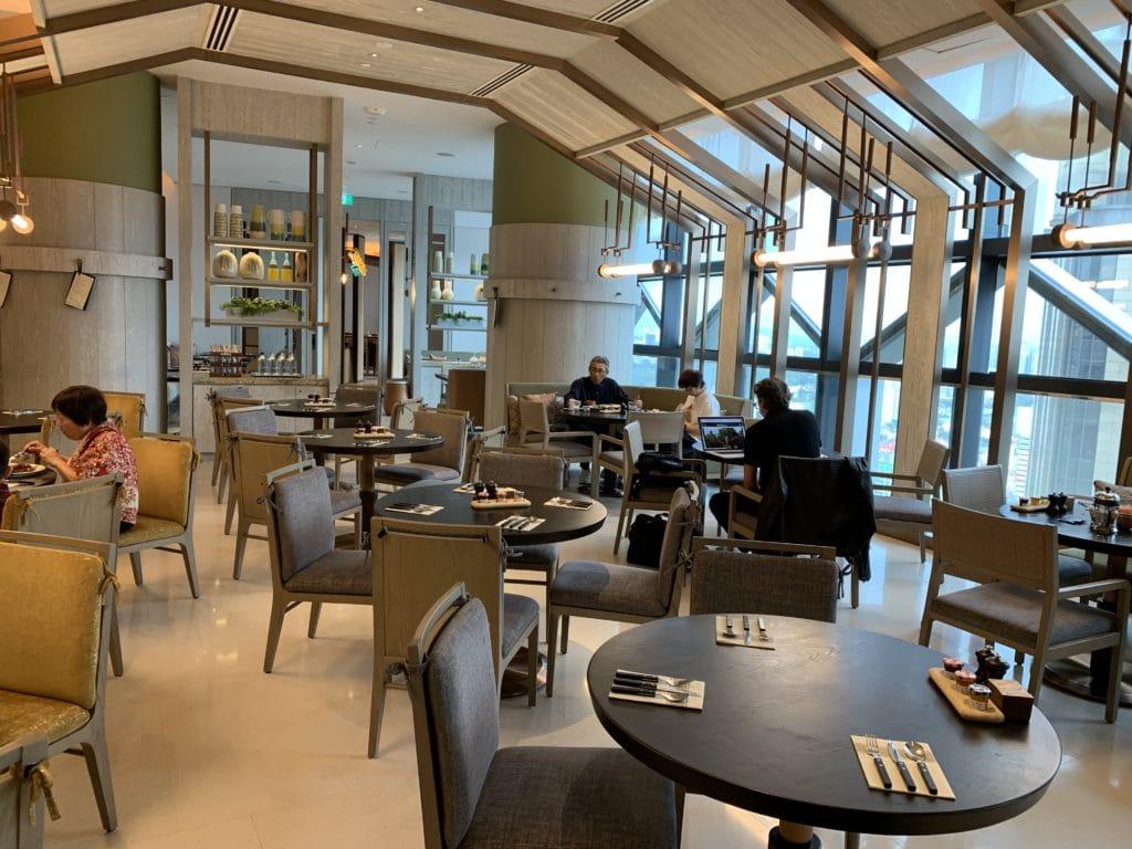 Andaz Singapore Frühstücksraum