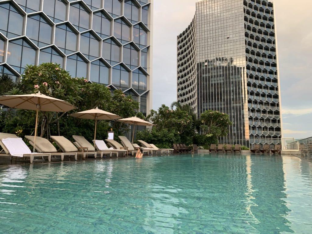 Andaz Singapore Pool Panorama