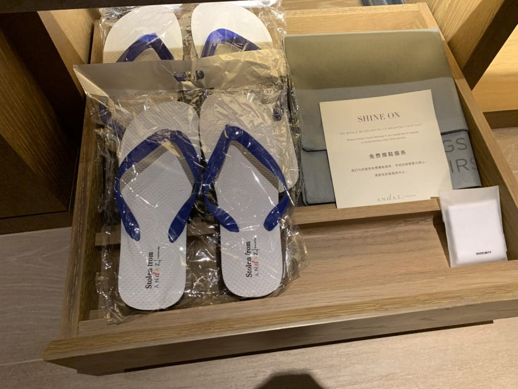 Andaz Singapore Pool Slippers