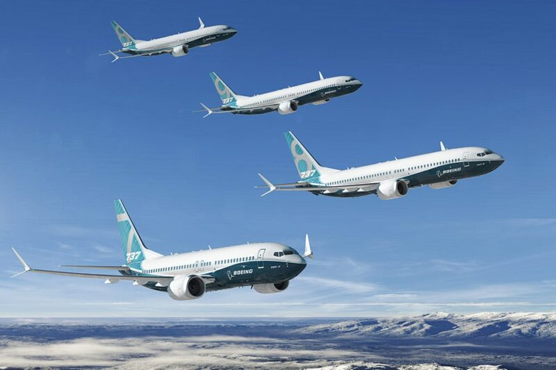 737MAX 737 MAX Family Image In Flight Full 2
