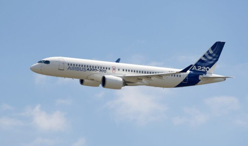 Airbus A220 300 New Member Of The Airbus Single Aisle Family E1531289665103