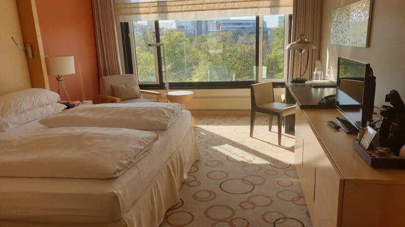 Berlin Sheraton Grande Hotel Esplanade Zimmer 2