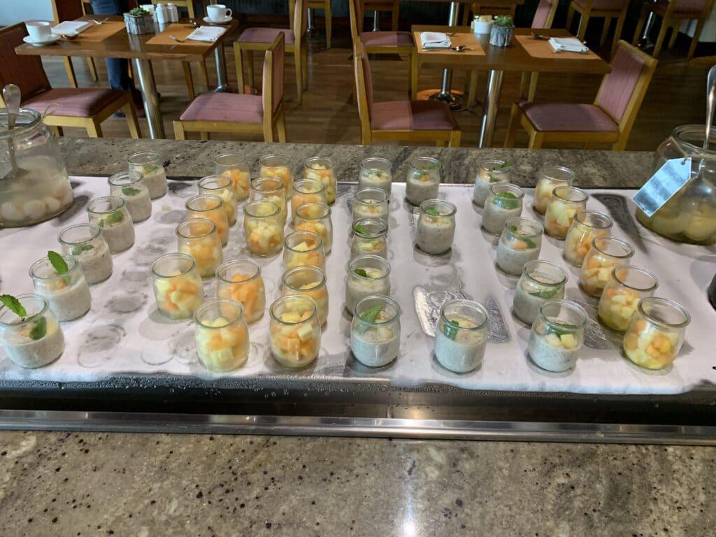 Conrad Dubai Frühstück Müsliauswahl