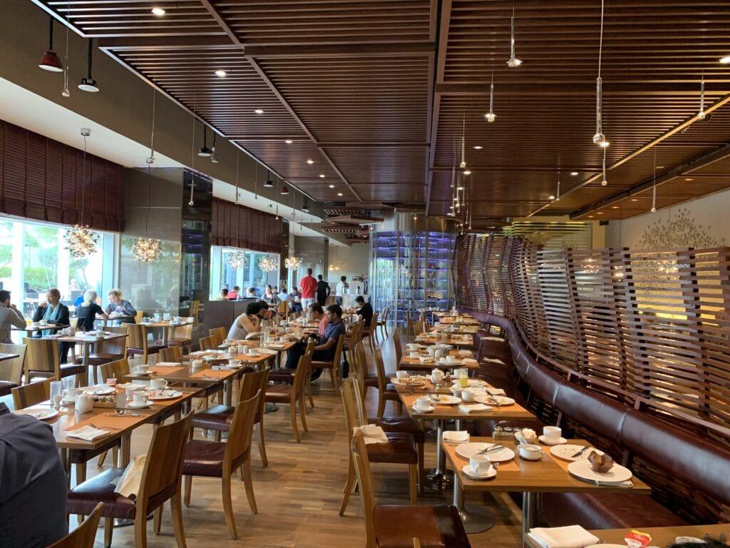 Conrad Dubai Frühstück Saal