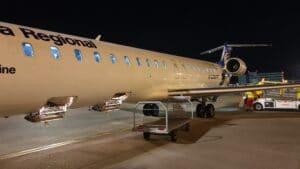 Lufthansa Ultra Kurzstrecke Business Class CRJ 900 5