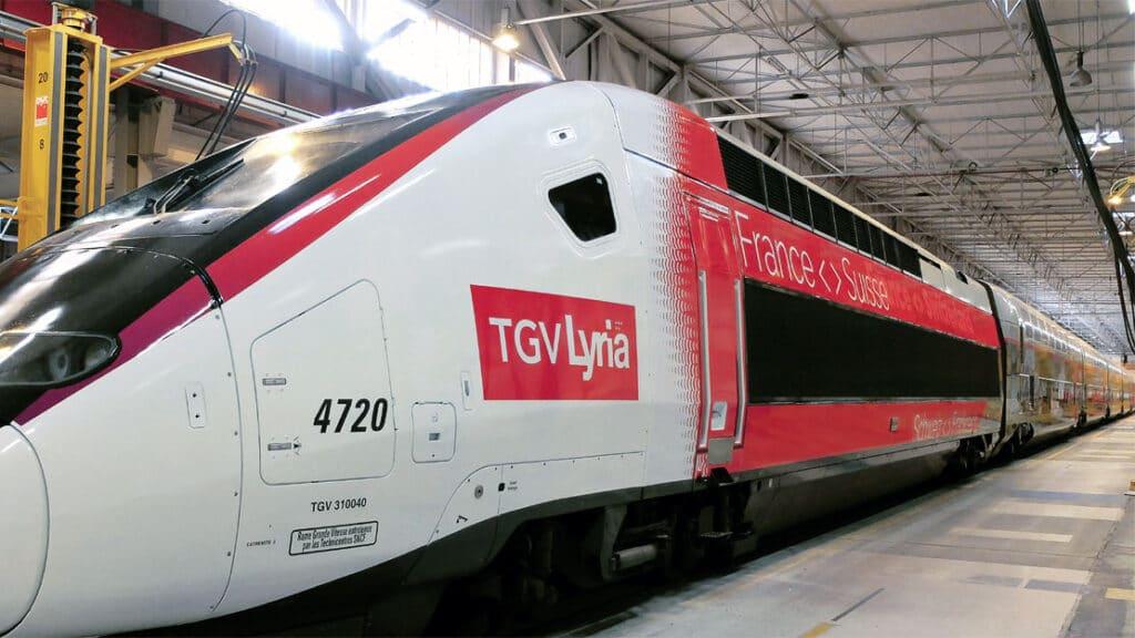 TGV Lyria Euroduplex