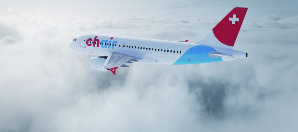 Chair Airlines A319 Rendering