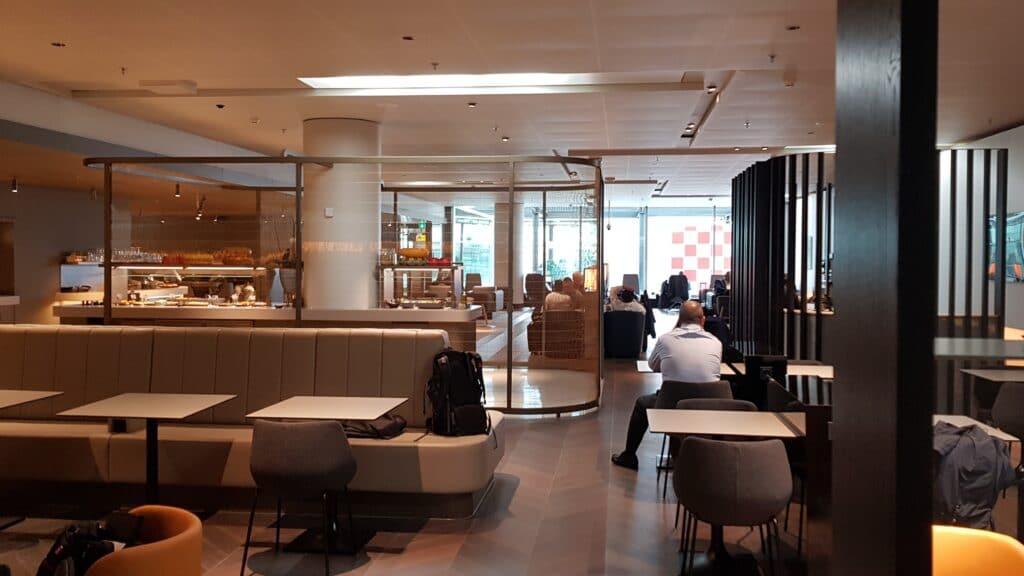 Star Alliance Lounge Amsterdam 2