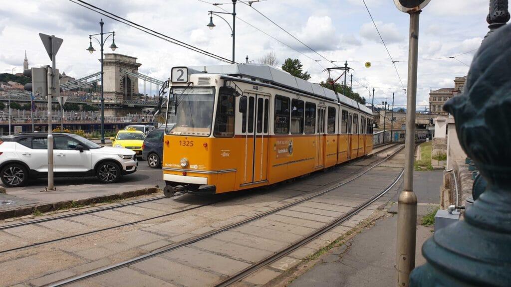 Budapest Tram 1