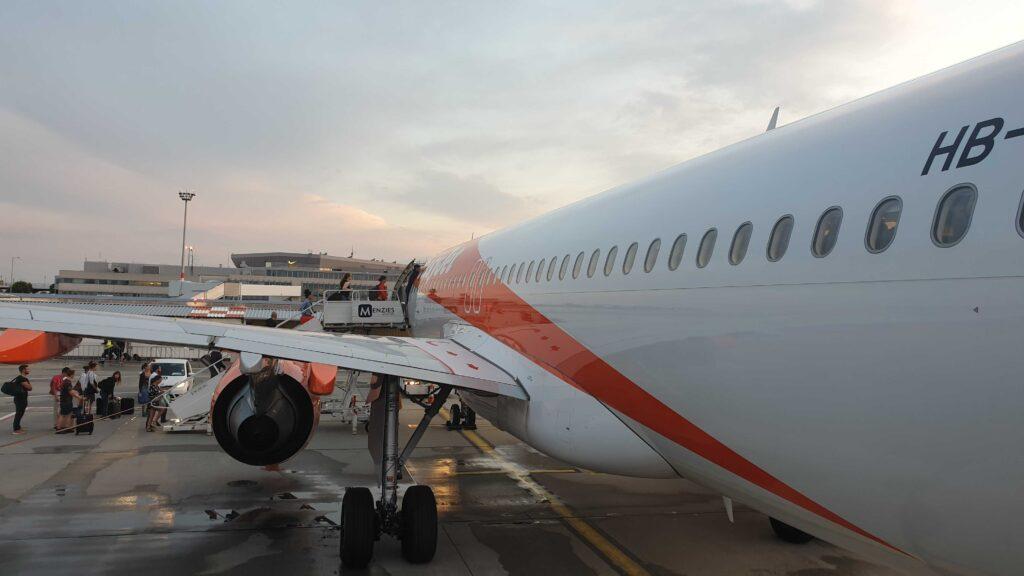 Easyjet Switzerland Schweiz Airbus A320 Budapest