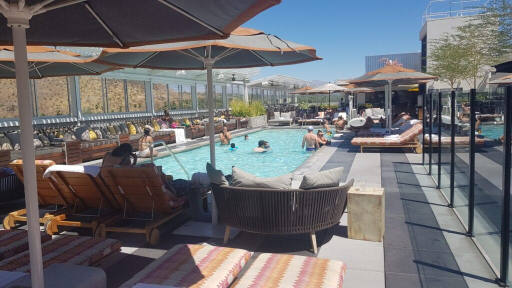 Kimpton Rowan Palm Springs Kalifornien IHG Pool 10