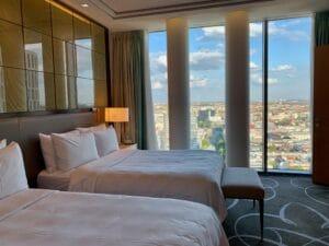 Waldorf Astoria Berlin Schlafzimmer Tower Suite