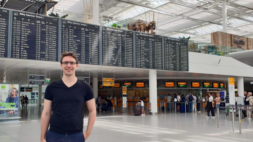 Reisetopia Wochenrückblick Alex München Abflugtafel Terminal 2 Lufthansa