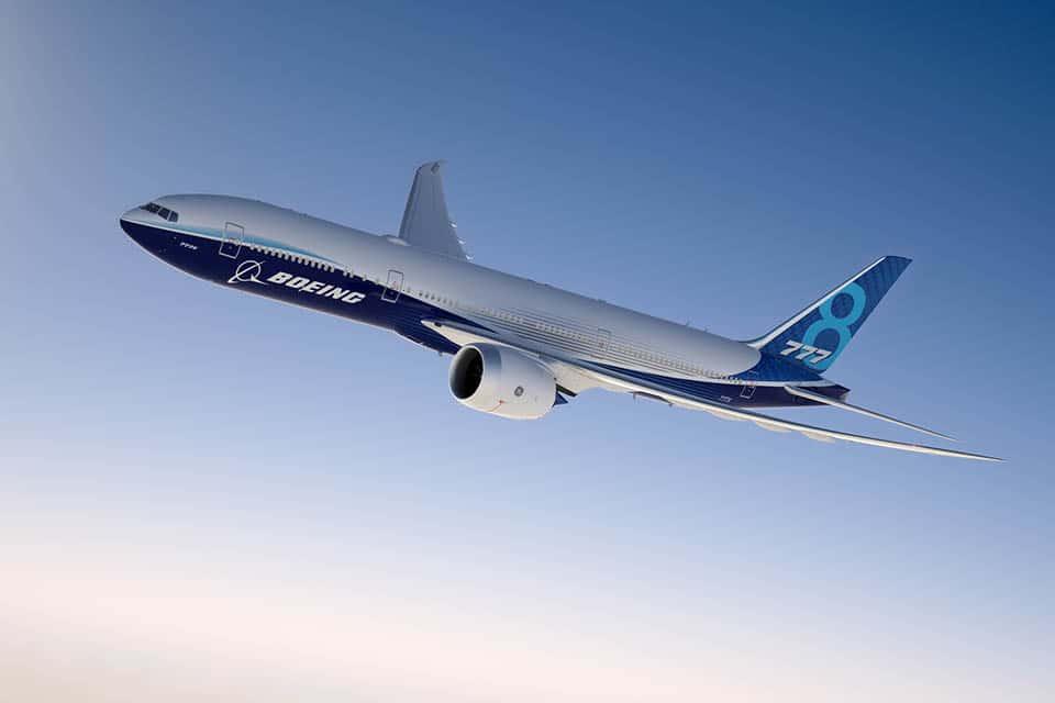 Boeing 777X Werksdesign