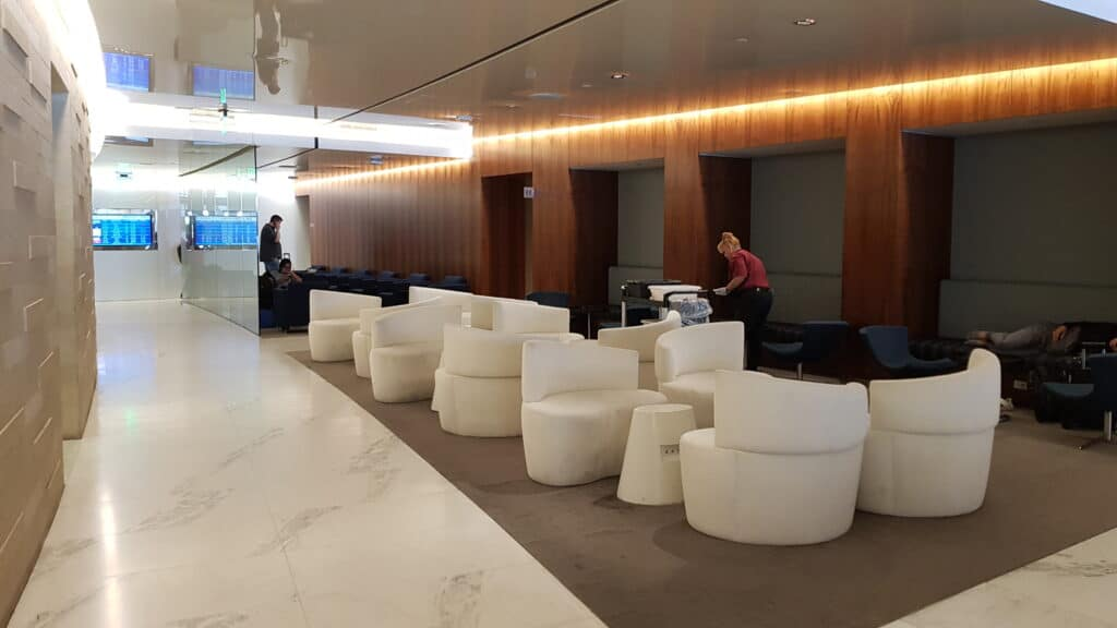 KAL Koren Air Lounge LAX Priority Pass 10