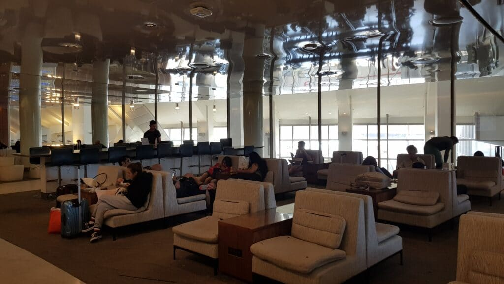 KAL Koren Air Lounge LAX Priority Pass 7