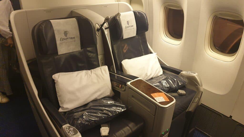 MS C Boeing 777 Business Class Langstrecke 1