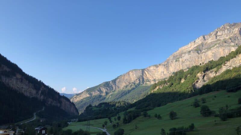 Mirco Wandern Berge Schweiz Wallis 1