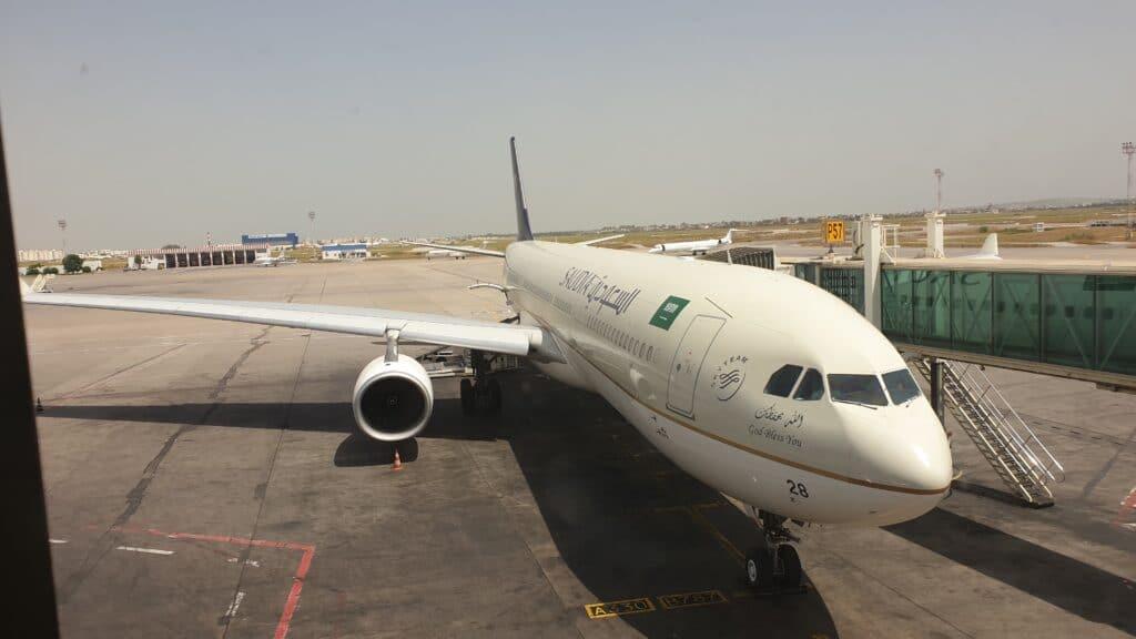 SV C Airbus A330 Business Class Mittelstrecke 1