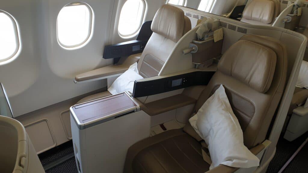 SV C Airbus A330 Business Class Mittelstrecke 5