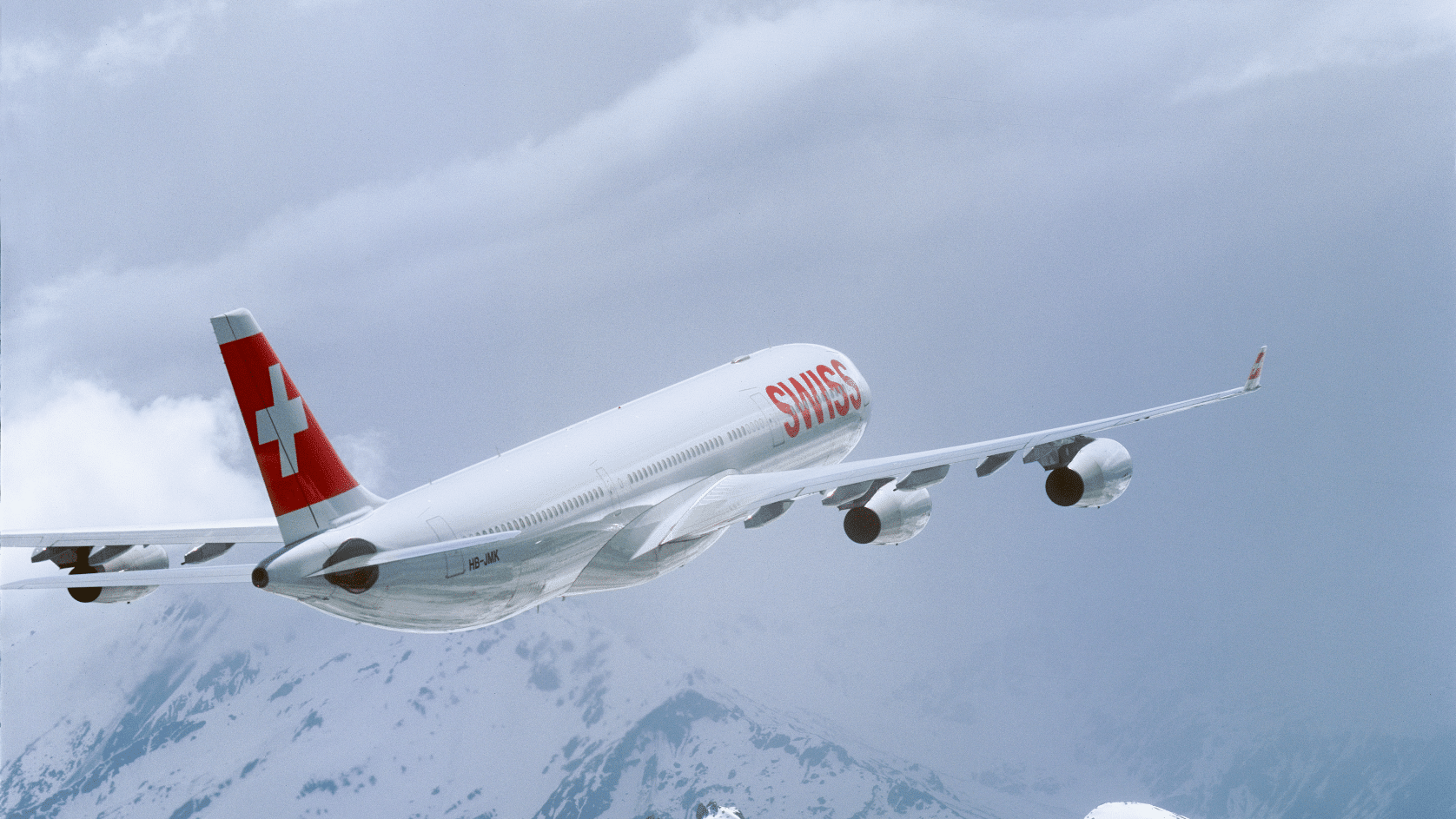 Swiss A340 Pressebild