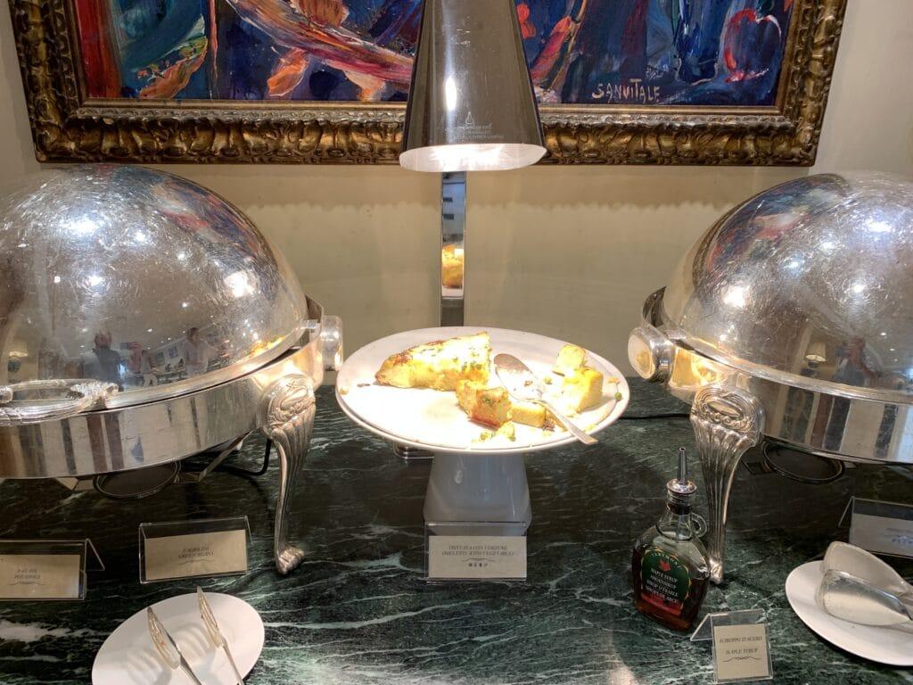 Waldorf Astoria Rom Frühstück Eierspeisen