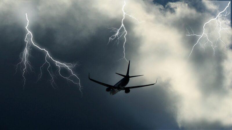 Blitz Flugzeug