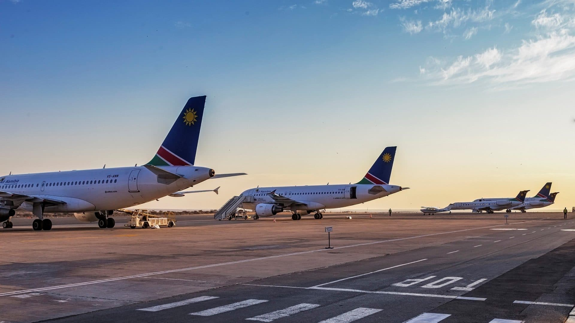 Air Namibia Grounding Insolvenz