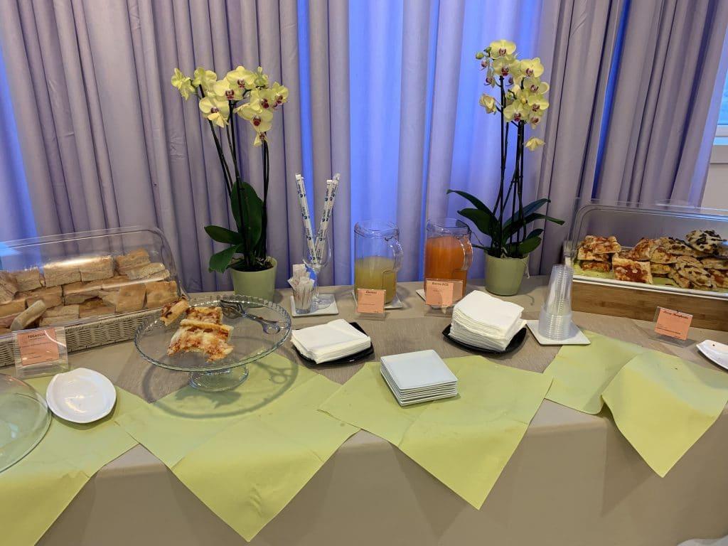 Bologna Business Lounge Buffet Total
