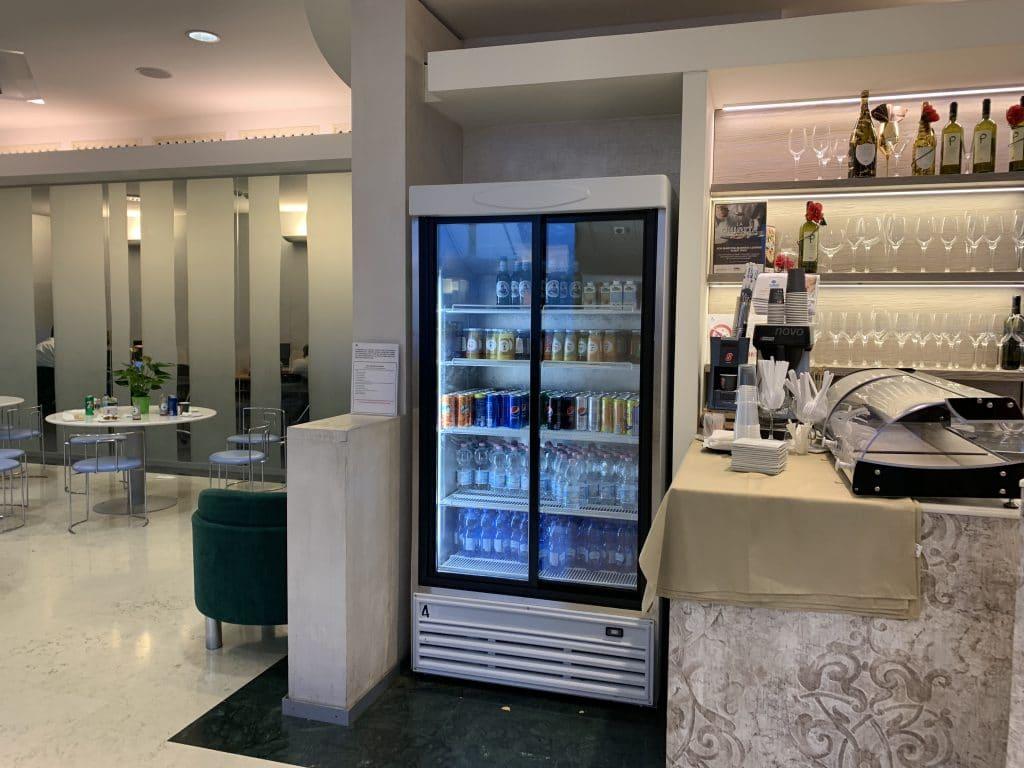 Bologna Business Lounge Getränke