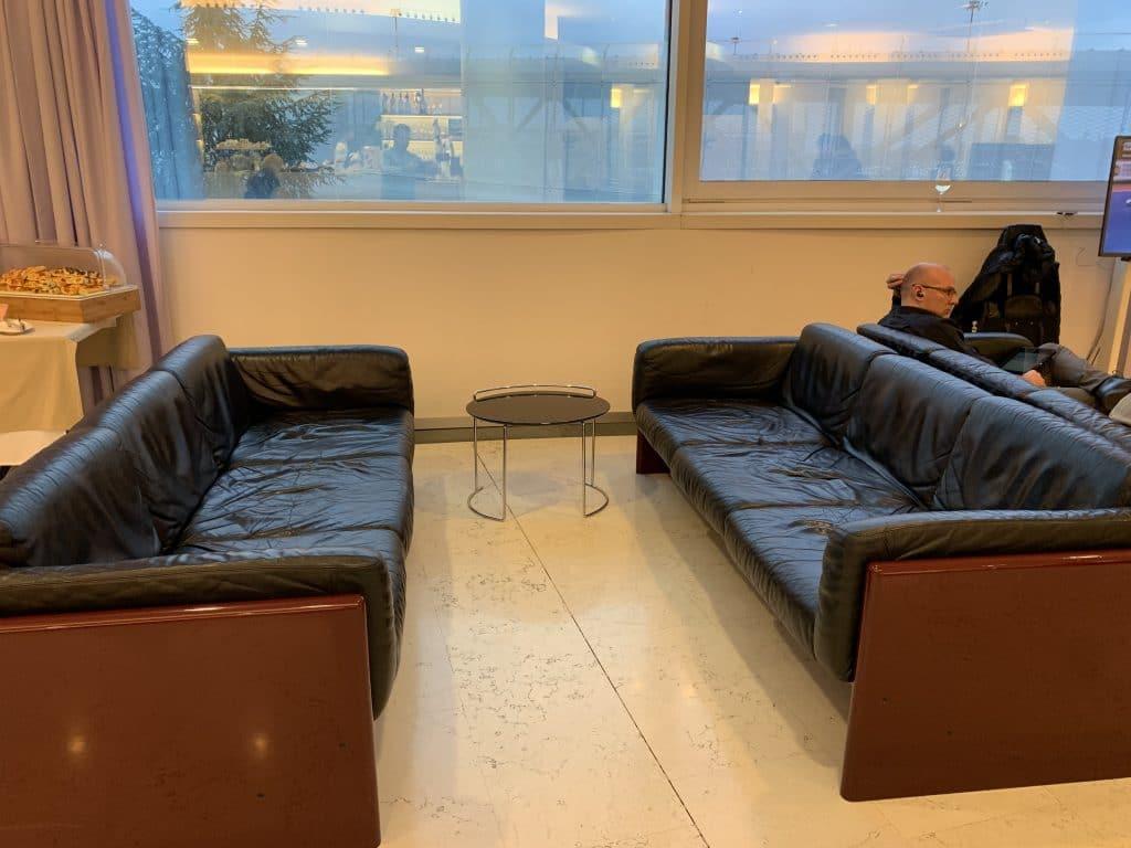 Bologna Business Lounge Sitzecke