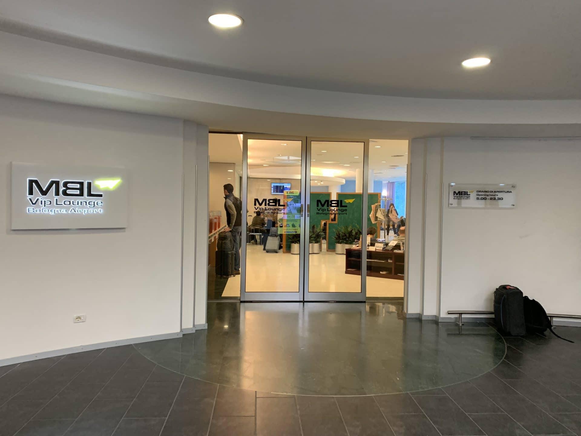 Bologna Business Lounge Zugang