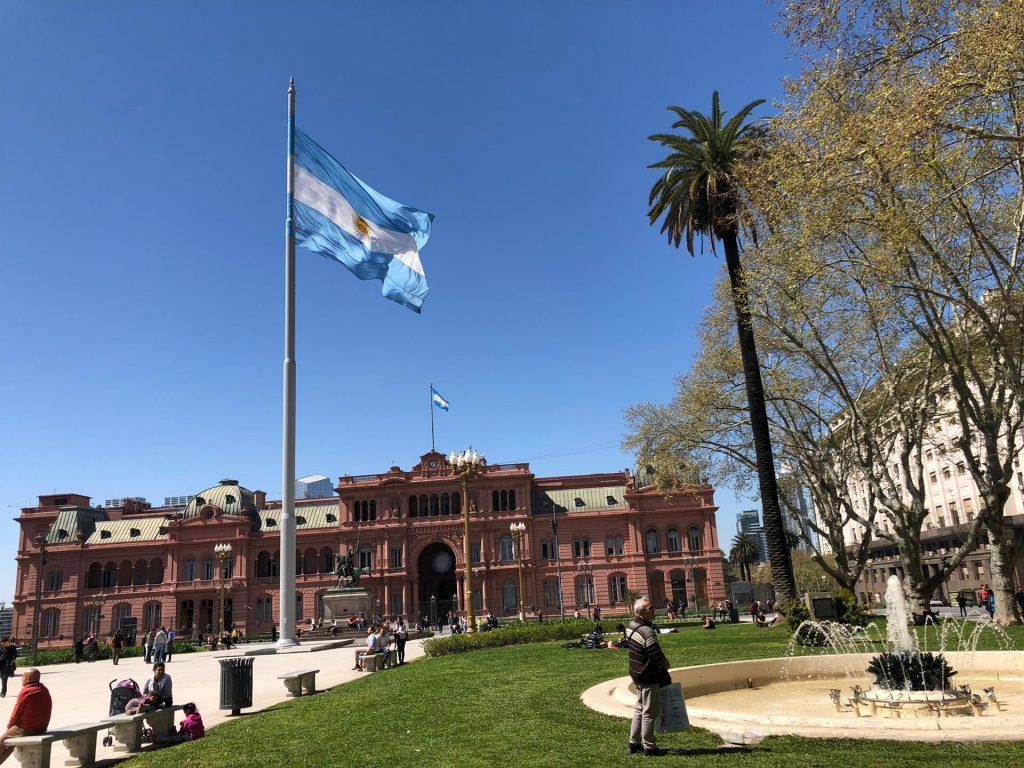 Fabian Wochenrückblick Argentinien Flagge