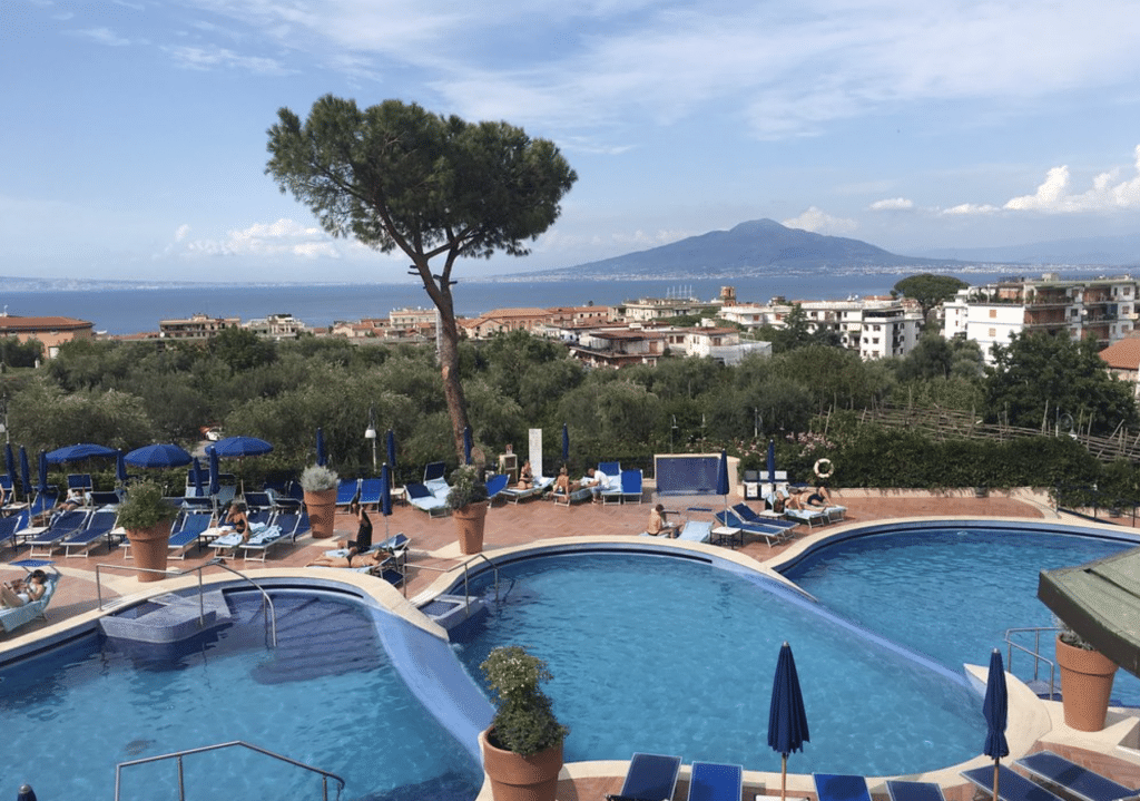 Hilton Sorrento Palace Aussenpool