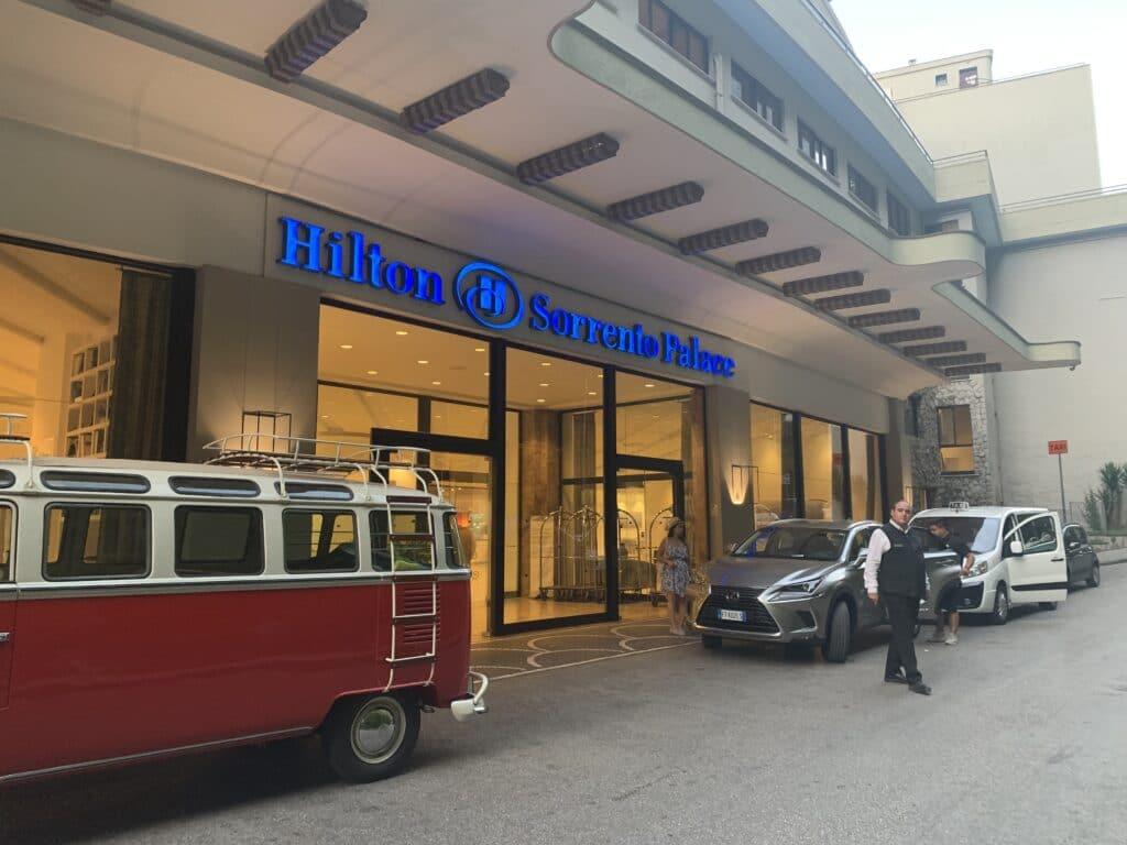 Hilton Sorrento Palace Eingang
