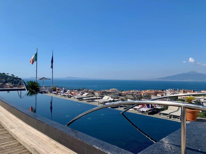 Hilton Sorrento Palace Executive Pool Panorama